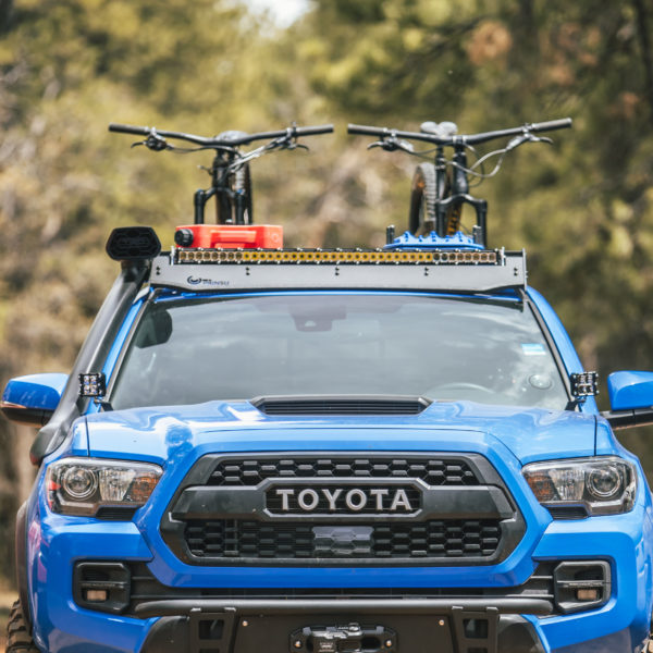 3rd gen Toyota Tacoma Cab Rack with desert air intake fitment