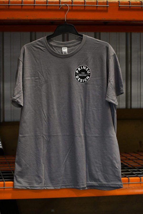 Grey logo tee Prinsu