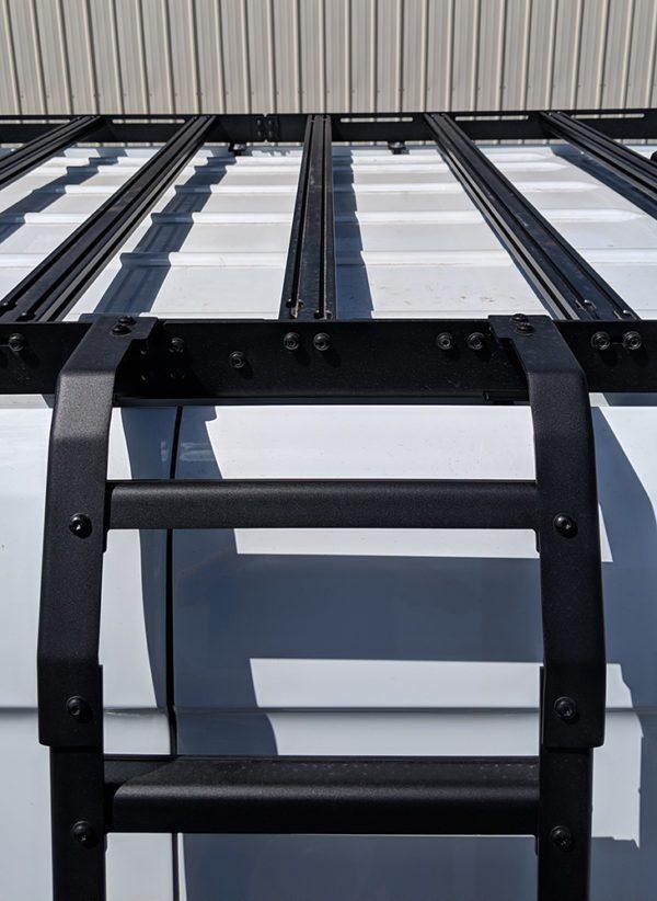 roof rack with ladder for sprinter van