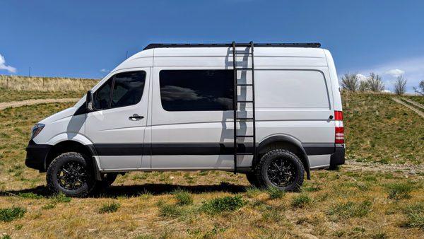 roof rack and ladder for sprinter van