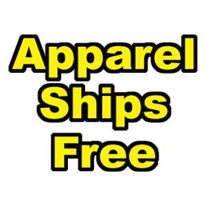 Apparel free shipping